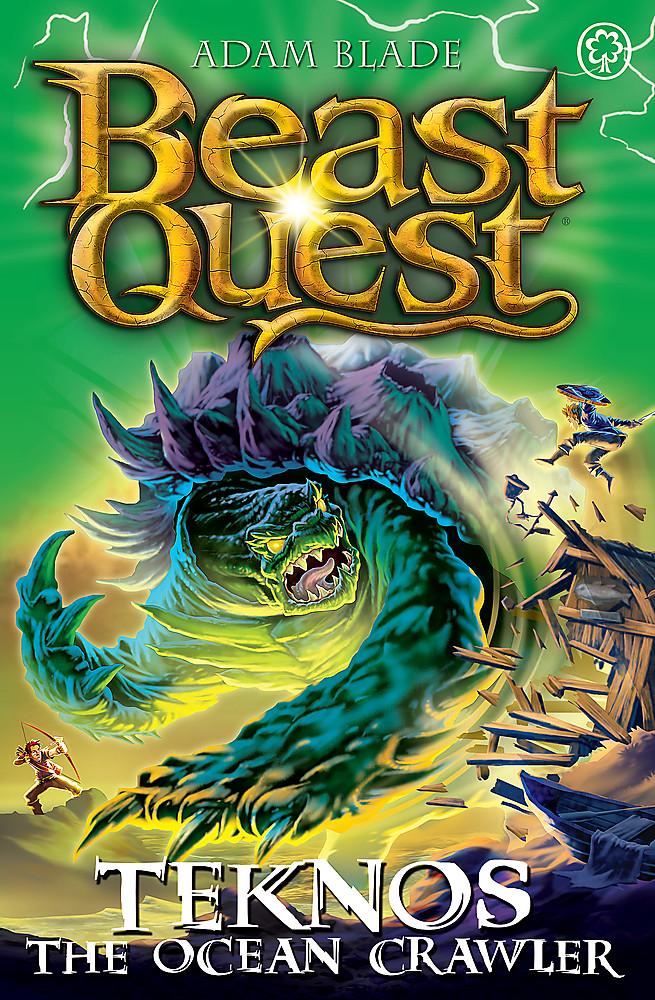 Beast Quest: Teknos the Ocean Crawler